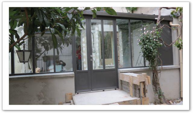 Verri re d 39 ext rieur for Verriere jardin d hiver