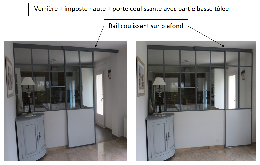 Verri re d 39 int rieur - Creation verriere interieur ...